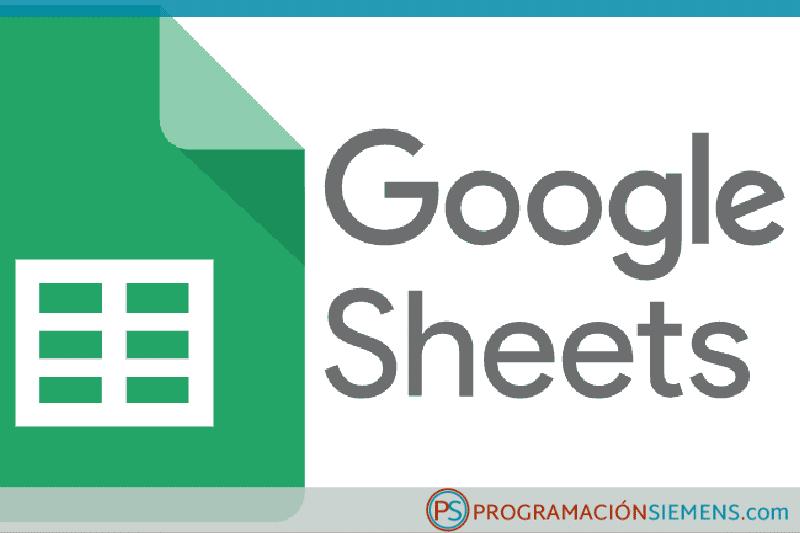 Cómo registrar datos de un PLC de Siemens en Google Sheets
